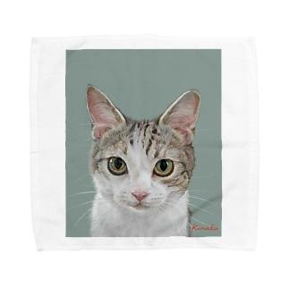kinako-japanのチャビー君 Towel handkerchiefs
