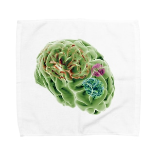 amnesia (BRAINS UP) Towel handkerchiefs