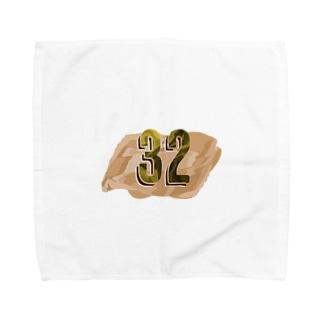 ナンバー32 Towel handkerchiefs