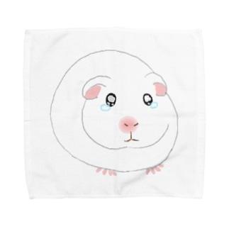 泣き虫モルモット Towel Handkerchief