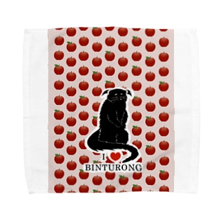 アイ・ラブ・ビントロング ~リンゴは止まらない~ Towel handkerchiefs