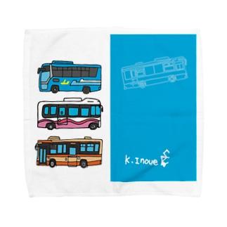 Buses2 Towel Handkerchief