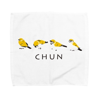 スズメ Towel handkerchiefs