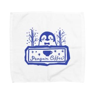 Penguin Coffee タオルハンカチ