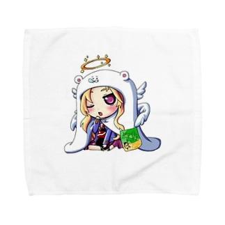 ルシファーうまるちゃん Towel handkerchiefs