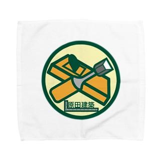 パ紋No.3066 原田建築 Towel handkerchiefs
