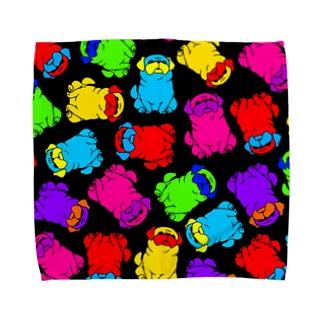 カラーパグ Towel handkerchiefs