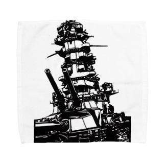 伊勢 最後の咆哮 Towel handkerchiefs