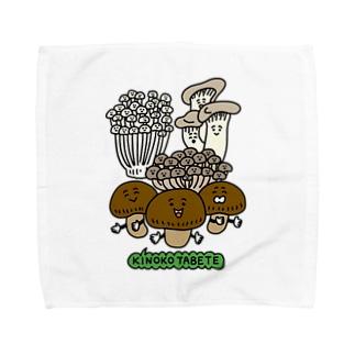 きのこたべて Towel handkerchiefs