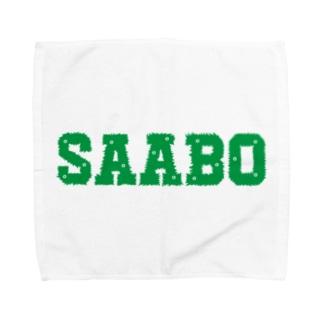SAABO_FUR_LOGO_G Towel handkerchiefs