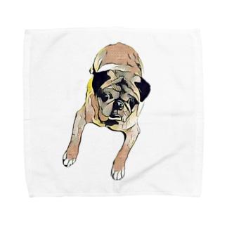 まさおシリーズ Towel handkerchiefs
