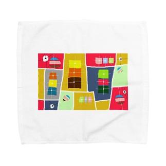まーマジョのマジョの箱 Towel handkerchiefs