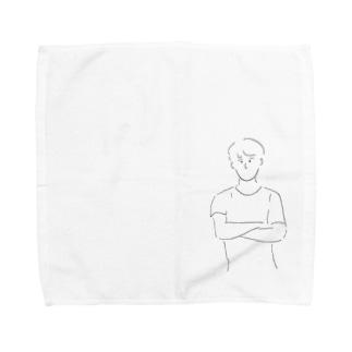 boy2 Towel handkerchiefs