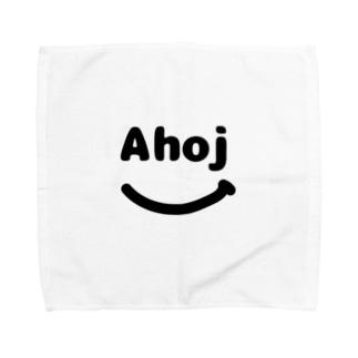 smile ahoj タオルハンカチ