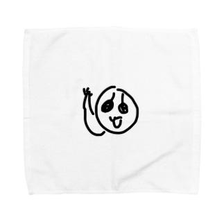 なまけのも Towel handkerchiefs