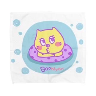BooNyanの夏 Towel handkerchiefs