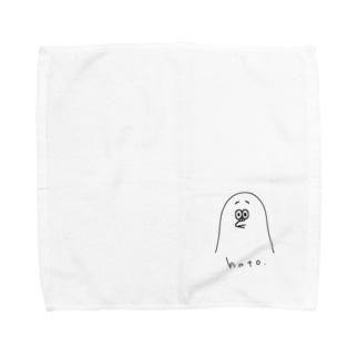 ポーカーフェイスで生きてゆく鳩 Towel handkerchiefs