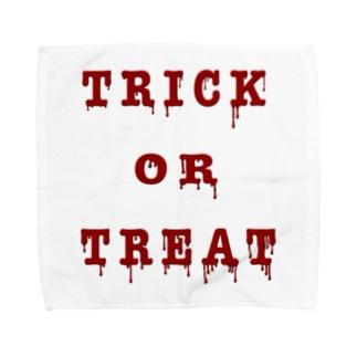 Bloody Trick or Treat Towel handkerchiefs