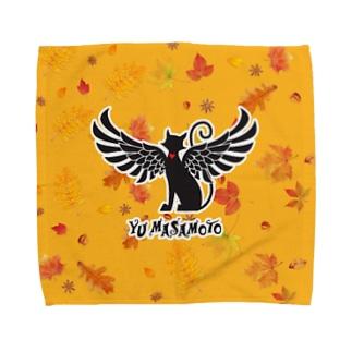 選べる3サイズ 貓羽ちゃんTH秋 Towel Handkerchief