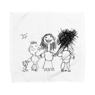 My family Towel handkerchiefs