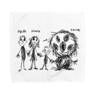 Family &Friends Towel handkerchiefs
