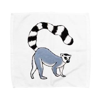 おさるのaimalくん Towel handkerchiefs