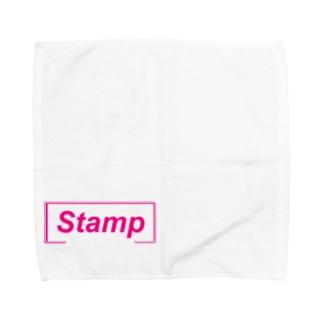 Stamp Towel handkerchiefs