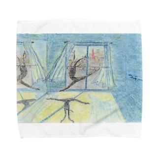 月明かりのダンサー Towel handkerchiefs