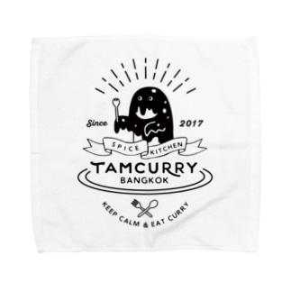 バンコクの架空のカレー屋さん Towel handkerchiefs
