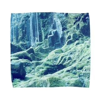Silent Moss Towel handkerchiefs