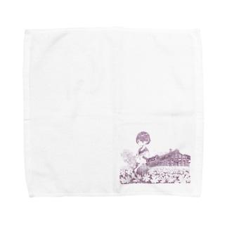 丸山変電所 Towel Handkerchief