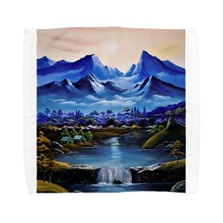 桃源郷 Towel handkerchiefs