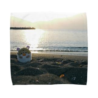うみべ Towel handkerchiefs