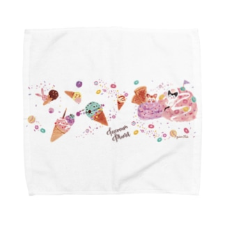 ice cream planet Towel handkerchiefs