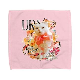 うらちゃん(タオルハンカチ) Towel handkerchiefs
