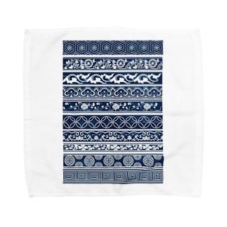江戸小紋 Towel handkerchiefs