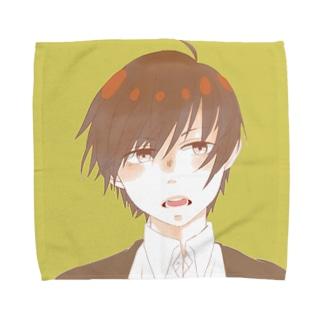 男の子 Towel handkerchiefs