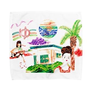 夏の思い出〜メモリー〜 Towel handkerchiefs
