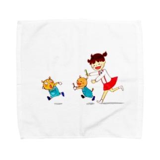 くうちゃんのたからもの Towel handkerchiefs