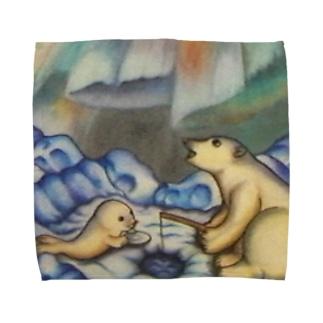 「まだかな~」 Towel handkerchiefs