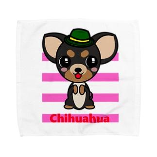 ちんちんチワワ Towel handkerchiefs