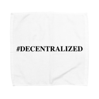 #Decentralized Towel handkerchiefs