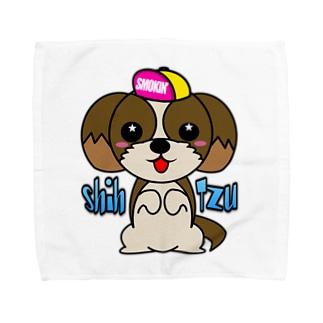 ちんちんシーズー Towel handkerchiefs