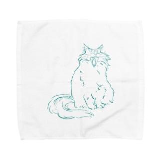 おおあくび Towel handkerchiefs