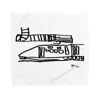 E2系 再び Towel handkerchiefs