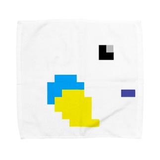 ドット絵(•'θ'•) Towel handkerchiefs