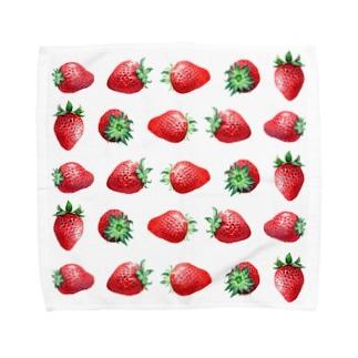 いちご Towel handkerchiefs