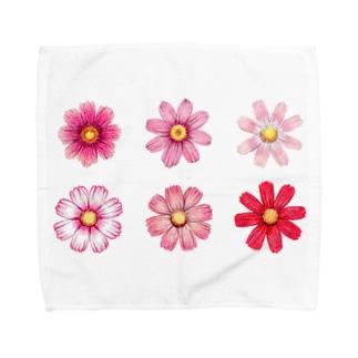 コスモス Towel handkerchiefs