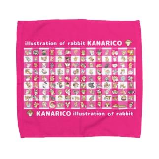 kanarico1周年タハンカチ タオルハンカチ