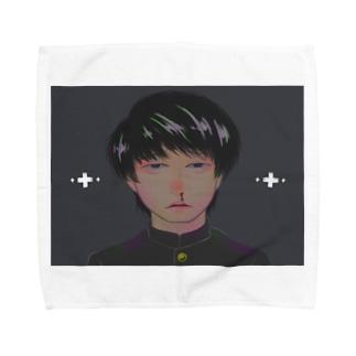 (体調)不良 Towel Handkerchief